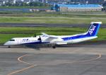 じーく。さんが、宮崎空港で撮影したANAウイングス DHC-8-402Q Dash 8の航空フォト(写真)