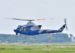 じーく。さんが、宮崎空港で撮影した宮崎県防災救急航空隊 412EPの航空フォト(写真)