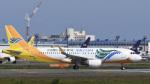 パンダさんが、成田国際空港で撮影したセブパシフィック航空 A320-214の航空フォト(写真)