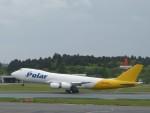 トタさんが、成田国際空港で撮影したポーラーエアカーゴ 747-87UF/SCDの航空フォト(写真)