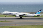 yabyanさんが、中部国際空港で撮影したエアプサン A321-232の航空フォト(飛行機 写真・画像)
