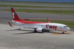 yabyanさんが、中部国際空港で撮影したティーウェイ航空 737-8ASの航空フォト(写真)