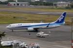 じーのさんさんが、八丈島空港で撮影した全日空 737-8ALの航空フォト(写真)