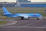 takaRJNSさんが、アムステルダム・スキポール国際空港で撮影したTUIフライ・ネーデルランド 737-8-MAXの航空フォト(写真)