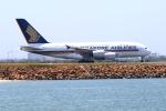 かみじょー。さんが、シドニー国際空港で撮影したシンガポール航空 A380-841の航空フォト(写真)