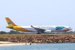 かみじょー。さんが、シドニー国際空港で撮影したセブパシフィック航空 A330-343Xの航空フォト(写真)