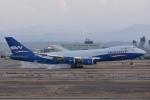 るかぬすさんが、小松空港で撮影したシルクウェイ・ウェスト・エアラインズ 747-83QFの航空フォト(写真)
