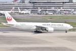 るかぬすさんが、羽田空港で撮影した日本航空 777-246/ERの航空フォト(写真)