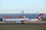安芸あすかさんが、デンパサール国際空港で撮影したキャセイドラゴン A330-342の航空フォト(写真)