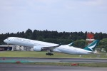 KAZFLYERさんが、成田国際空港で撮影したキャセイパシフィック航空 A350-1041の航空フォト(写真)