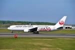 hidetsuguさんが、新千歳空港で撮影した日本航空 767-346の航空フォト(写真)
