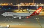 うとPさんが、羽田空港で撮影したカンタス航空 747-48Eの航空フォト(写真)
