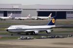 T.Sazenさんが、羽田空港で撮影したルフトハンザドイツ航空 747-830の航空フォト(飛行機 写真・画像)