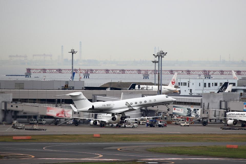 T.Sazenさんのプライベートエア Gulfstream G500/G550 (G-V) (PR-WQY) 航空フォト