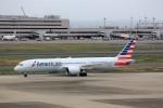 T.Sazenさんが、羽田空港で撮影したアメリカン航空 787-9の航空フォト(飛行機 写真・画像)