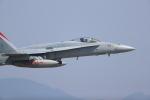 totsu19さんが、岩国空港で撮影したアメリカ海兵隊 F/A-18C Hornetの航空フォト(写真)