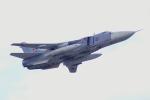 ちゃぽんさんが、ジュコーフスキー空港で撮影したロシア空軍 Sukhoi Su-24の航空フォト(飛行機 写真・画像)