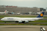 yu_kiさんが、羽田空港で撮影したルフトハンザドイツ航空 747-830の航空フォト(写真)