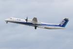NIKEさんが、松山空港で撮影したANAウイングス DHC-8-402Q Dash 8の航空フォト(写真)