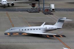 T.Sazenさんが、羽田空港で撮影したプライベートエア C-37B Gulfstream G550 (G-V-SP)の航空フォト(写真)
