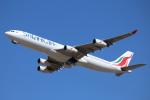 mogusaenさんが、成田国際空港で撮影したスリランカ航空 A340-313Xの航空フォト(飛行機 写真・画像)
