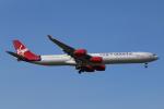 mogusaenさんが、成田国際空港で撮影したヴァージン・アトランティック航空 A340-642の航空フォト(飛行機 写真・画像)