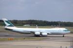 KAZFLYERさんが、成田国際空港で撮影したキャセイパシフィック航空 747-867F/SCDの航空フォト(写真)