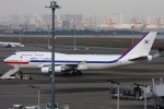 Hiro-hiroさんが、羽田空港で撮影した大韓民国空軍 747-4B5の航空フォト(写真)