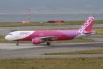 rjジジィさんが、関西国際空港で撮影したピーチ A320-214の航空フォト(写真)