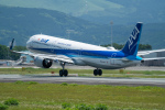 yu_kiさんが、熊本空港で撮影した全日空 A321-272Nの航空フォト(写真)