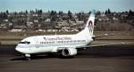 ハミングバードさんが、シアトル タコマ国際空港で撮影したアメリカウエスト航空 737-3G7の航空フォト(写真)