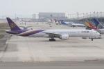 rjジジィさんが、関西国際空港で撮影したタイ国際航空 777-3AL/ERの航空フォト(写真)