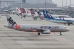 rjジジィさんが、関西国際空港で撮影したジェットスター・アジア A320-232の航空フォト(写真)