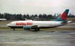 ハミングバードさんが、シアトル タコマ国際空港で撮影したアメリカウエスト航空 737-33Aの航空フォト(写真)
