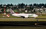 ハミングバードさんが、シアトル タコマ国際空港で撮影したフロンティア航空 737-36Qの航空フォト(写真)