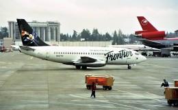 ハミングバードさんが、シアトル タコマ国際空港で撮影したフロンティア航空 737-228/Advの航空フォト(飛行機 写真・画像)