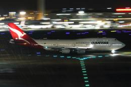 Hide.Oさんが、羽田空港で撮影したカンタス航空 747-438の航空フォト(写真)
