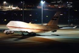 Hide.Oさんが、羽田空港で撮影したドバイ・ロイヤル・エア・ウィング 747-422の航空フォト(飛行機 写真・画像)