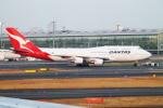 Hide.Oさんが、羽田空港で撮影したカンタス航空 747-438/ERの航空フォト(写真)
