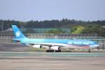 KAZFLYERさんが、成田国際空港で撮影したエア・タヒチ・ヌイ A340-313Xの航空フォト(飛行機 写真・画像)