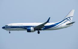 Shotaroさんが、香港国際空港で撮影したアトラン・アヴィアトランス・カーゴ・エアラインズ 737-83N(BCF)の航空フォト(飛行機 写真・画像)