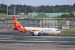 KAZFLYERさんが、成田国際空港で撮影した海南航空 737-86Nの航空フォト(飛行機 写真・画像)