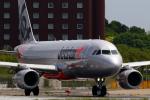 こだしさんが、成田国際空港で撮影したジェットスター・ジャパン A320-232の航空フォト(写真)