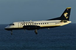 nobu2000さんが、プリンセス・ジュリアナ国際空港で撮影したシーボーン・エアラインズ 340Bの航空フォト(飛行機 写真・画像)