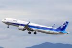 おみずさんが、松山空港で撮影した全日空 A321-272Nの航空フォト(写真)