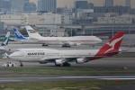 トロピカルさんが、羽田空港で撮影したカンタス航空 747-438の航空フォト(飛行機 写真・画像)
