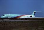 tassさんが、新潟空港で撮影した日本エアシステム MD-90-30の航空フォト(飛行機 写真・画像)