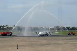 Gujirinkaさんが、フランシスコ・バンゴイ国際空港で撮影したロイヤル・エア・チャーター・サービシーズ Avro 146-RJ100の航空フォト(飛行機 写真・画像)
