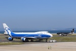 Fukutaroさんが、北九州空港で撮影したエアブリッジ・カーゴ・エアラインズ 747-4KZF/SCDの航空フォト(写真)
