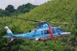 ラムさんが、静岡ヘリポートで撮影した沖縄県警察 A109E Powerの航空フォト(飛行機 写真・画像)